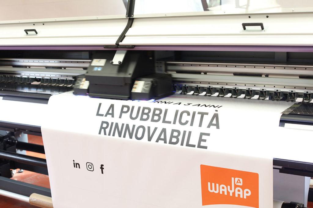 Stampa digitale su pellicola in PVC