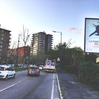 Cartelli pubblicitari Sesto San Giovanni VIA DEI PARTIGIANI