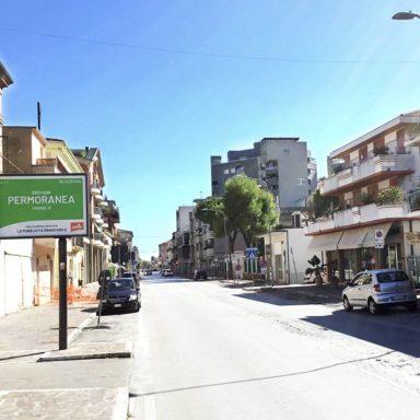 Cartelli pubblicitari Wayap a Giulianova