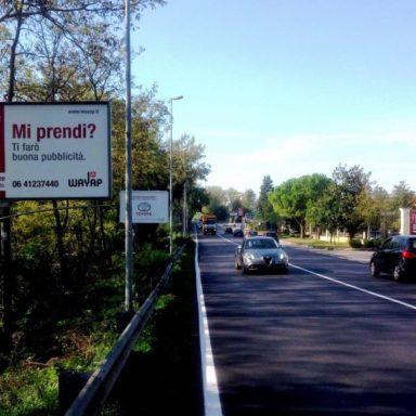 Cartelli pubblicitario Ausonia ingresso Cassino