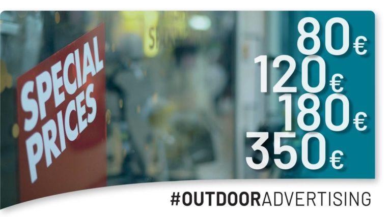 pianificare una campagna pubblicitaria su affissione quanto costa un poster pubblicitario 4x3 o 6x3