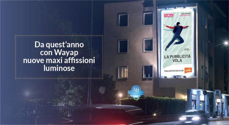 Impianti pubblicitari a Brescia maxi affissione luminosa