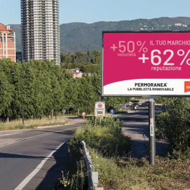 Perché conviene la pubblicità cartellonistica esterna un cartello con alcuni dati