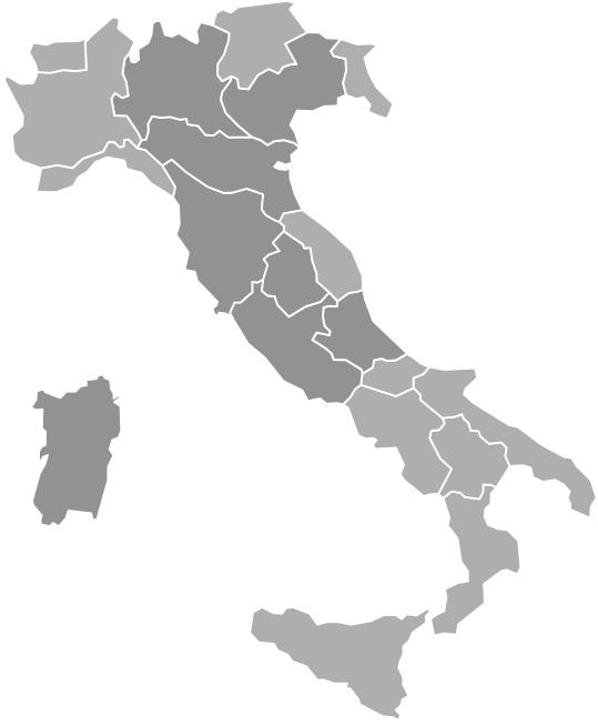 mappa impianti wayap per la pubblicità esterna in italia