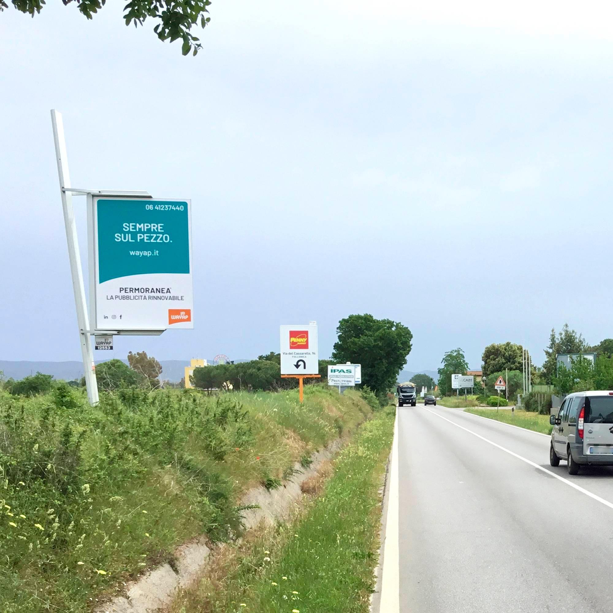 cartelli pubblicitari su strada di wayap | cartellonistica pubblicitaria per grandi aziende
